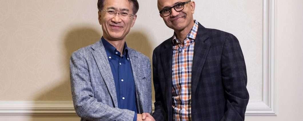 Un'alleanza Microsoft-Sony per il cloud gaming