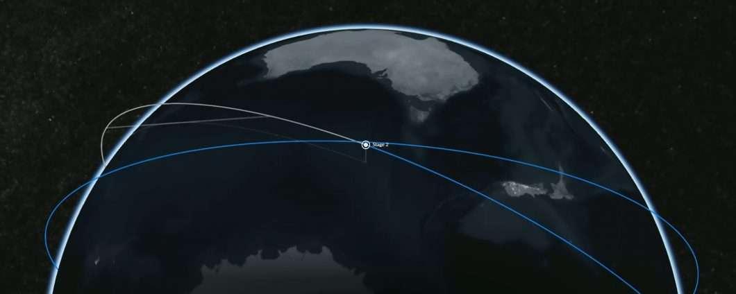 SpaceX Starlink: satelliti in formazione nel cielo