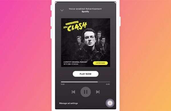 Spotify: inserzioni pubblicitarie con le quali interagire mediante comandi vocali