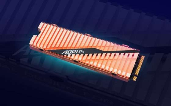 Gigabyte e Corsair: SSD fino a 5 GB/s con PCIe 4