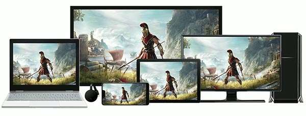Il cloud gaming di Stadia su ogni dispositivo