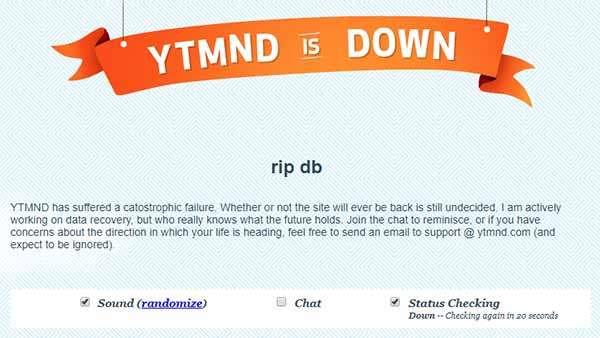 YTMND è offline
