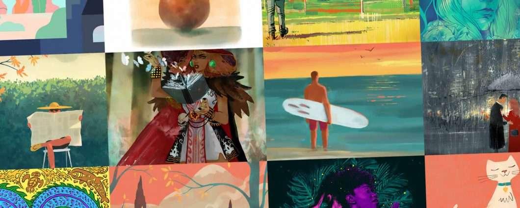 Adobe Fresco, per il disegno e la pittura