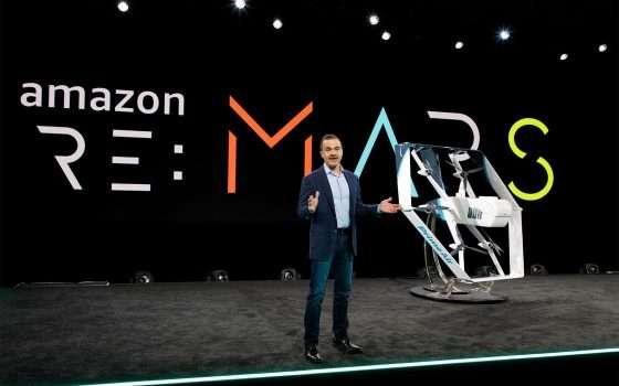 Il nuovo drone di Amazon Prime Air per le consegne