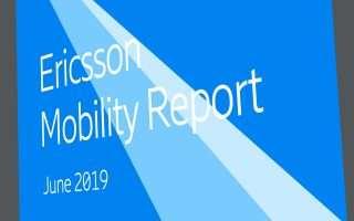 Ericsson Mobility Report: la corsa del 5G