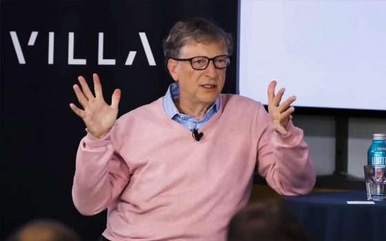 Bill Gates: l'antitrust ha ucciso Windows Mobile
