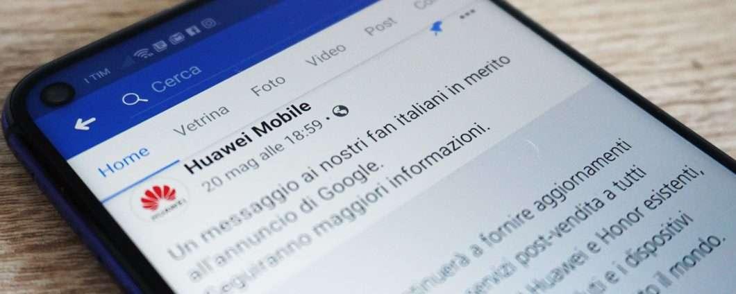 Facebook: un bloatware in meno sui device Huawei