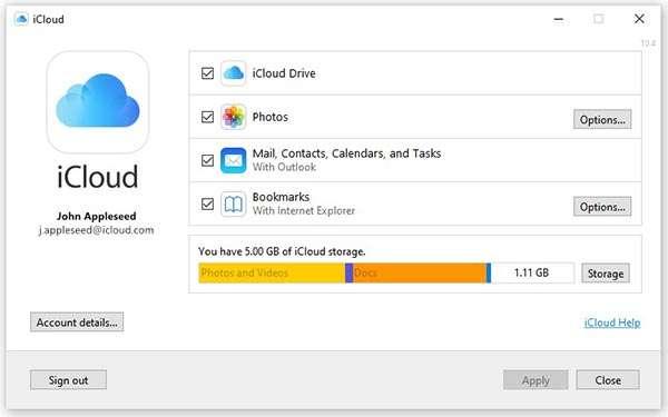 La nuova app di iCloud arriva su Windows Store per i PC