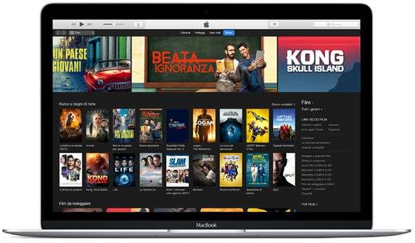 iTunes su macOS