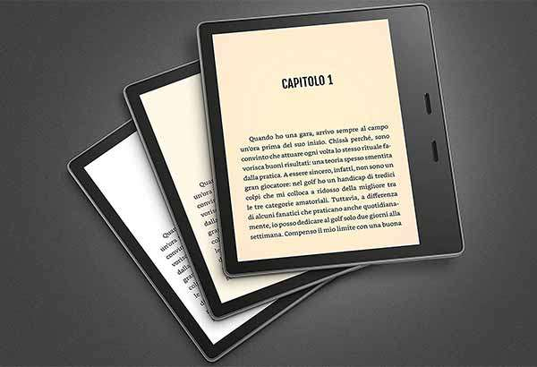 Il nuovo Kindle Oasis di Amazon