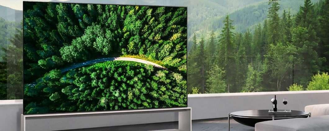 LG inaugura l'era delle TV 8K con il suo OLED