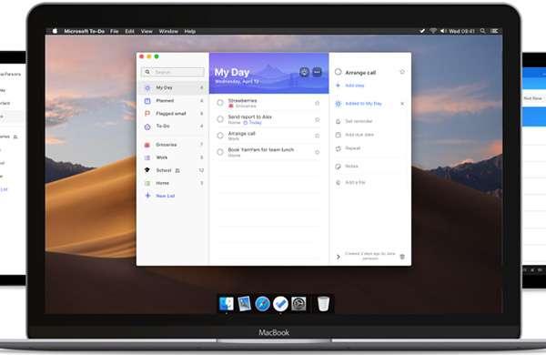La versione di Microsoft To-Do per macOS