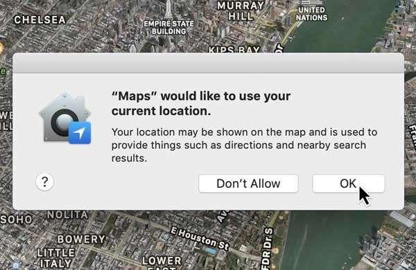 macOS: autorizzazioni e click sintetici
