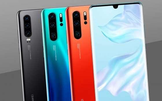 Huawei, rallentata la produzione degli smartphone?