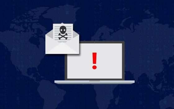 Ransomware: se non paghi pubblichiamo i tuoi file