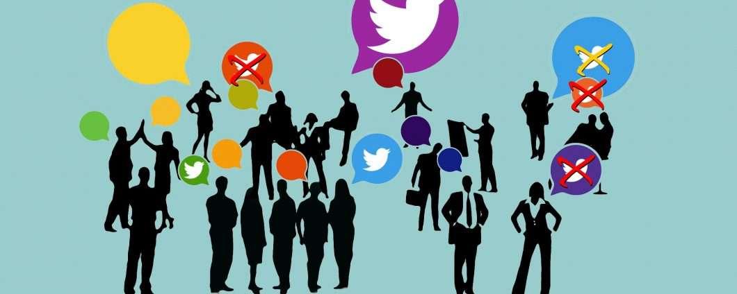 La legge di Twitter non è uguale per tuti