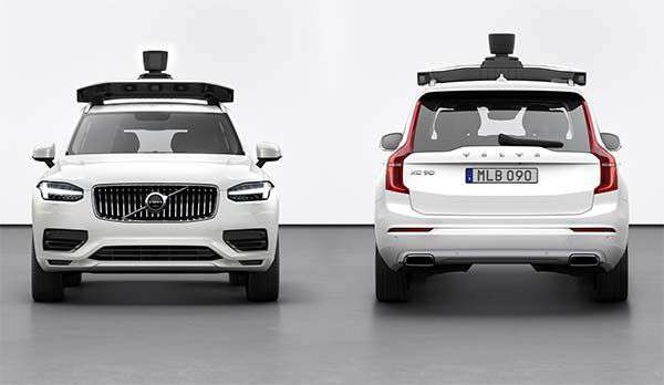 La nuova self-driving car di Uber