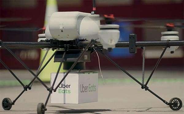Uber Eats consegna cibo con i droni