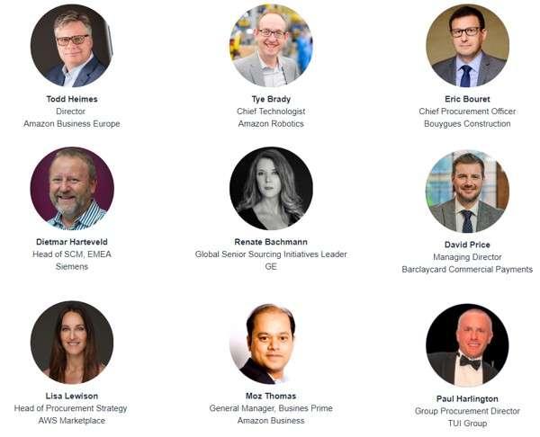 Amazon Business Exchange 2019: gli speaker