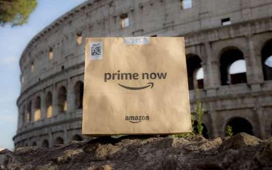 Amazon Prime Now raggiunge 16 nuovi CAP a Roma