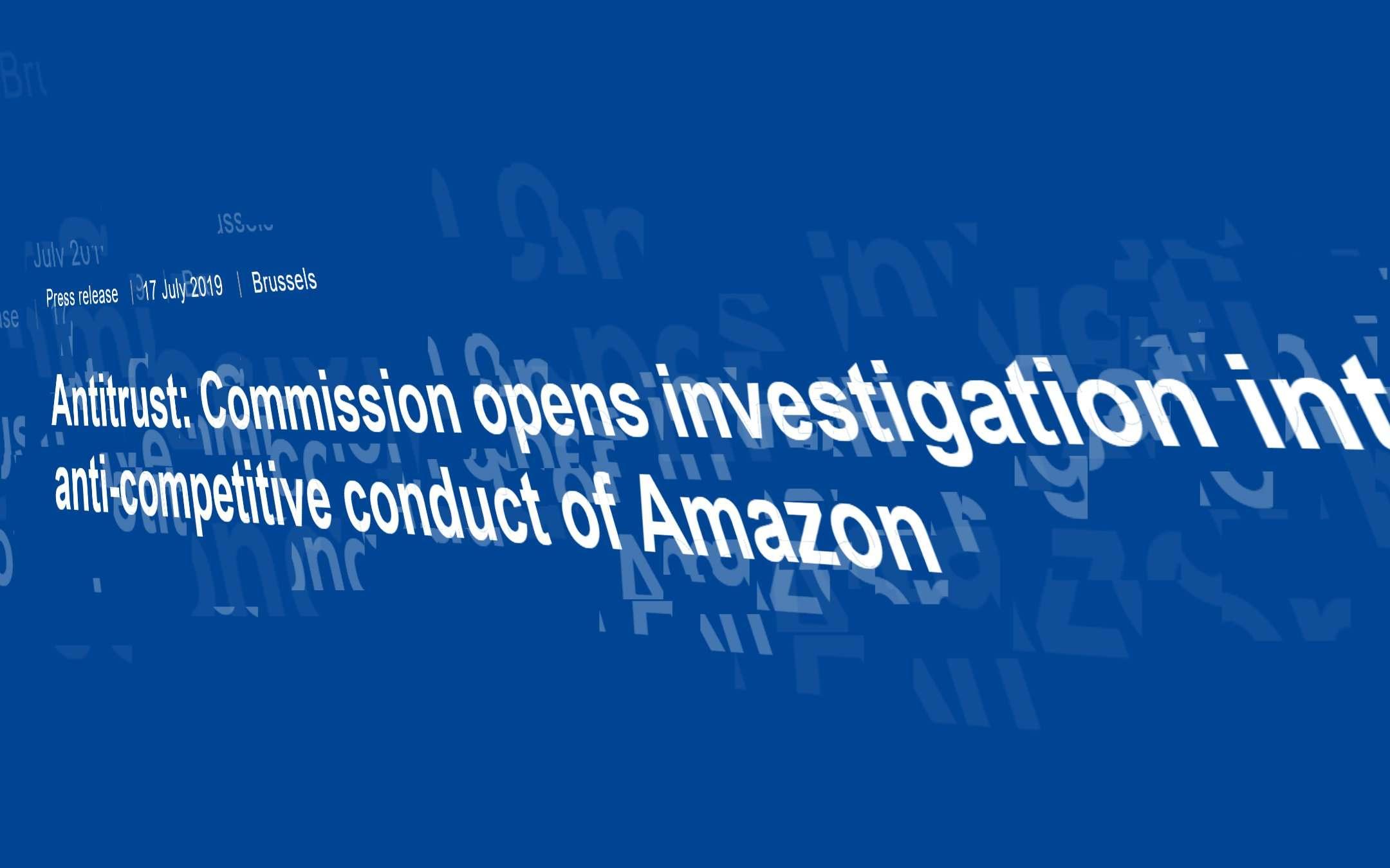 La Commissione Europea indaga su Amazon