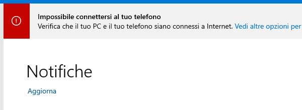 L'app Il Tuo Telefono su Windows 10
