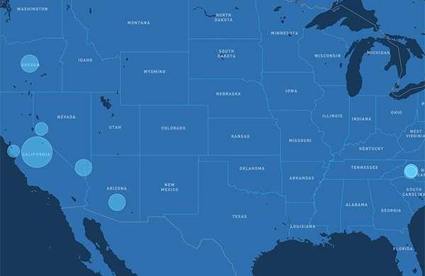 Gli impianti che producono energia dal sole allestiti da Apple negli Stati Uniti