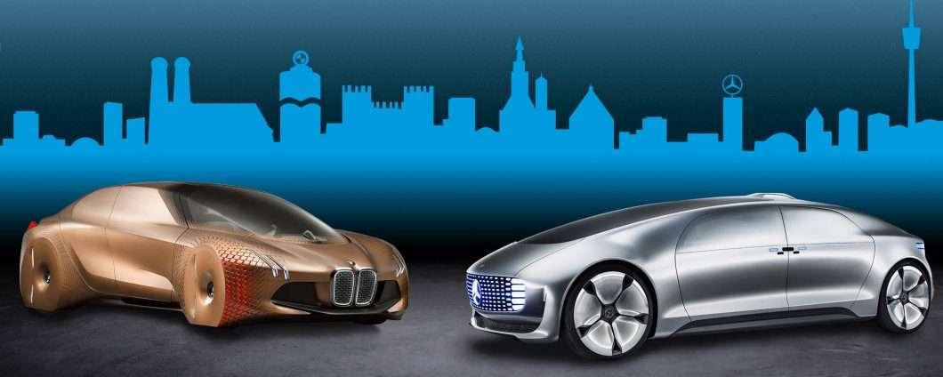 BMW e Daimler: la guida autonoma parla tedesco
