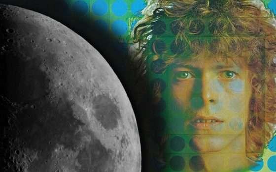 Quel sottile filo che lega David Bowie alla Luna