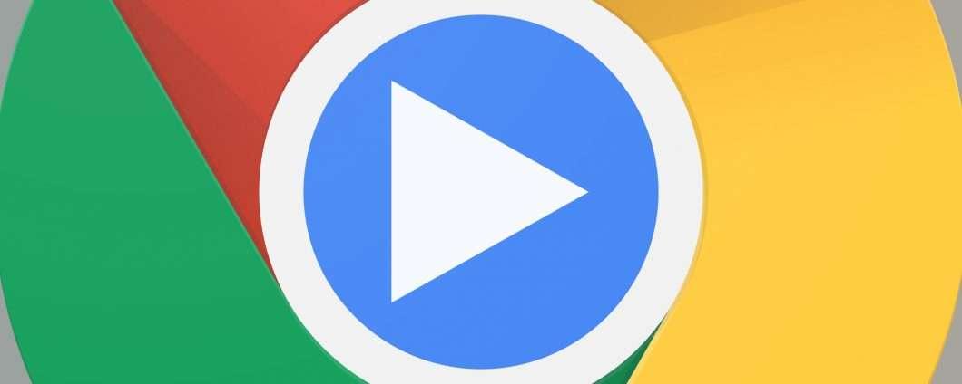 Un pulsante Play in arrivo nel browser Chrome