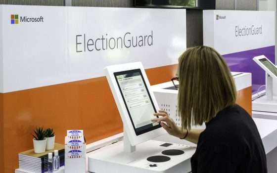 La tecnologia Microsoft ElectionGuard per il voto