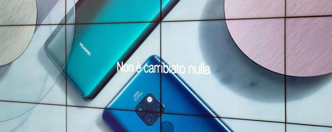 Huawei tira dritto: