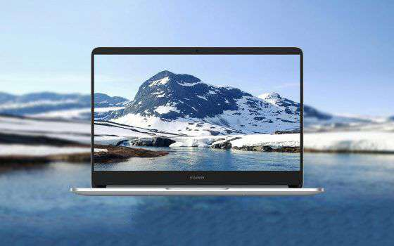 Huawei MateBook D in offerta su Amazon a 549 euro