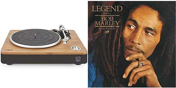 House of Marley Stir It Up Turntable e vinile