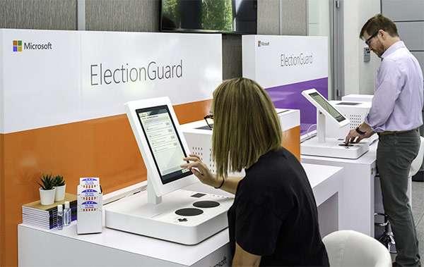 Il sistema di voto realizzato da Microsoft sulla base della piattaforma ElectionGuard