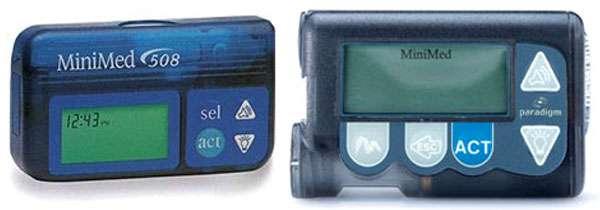 Due delle pompe insuliniche Medtronic interessate dal problema