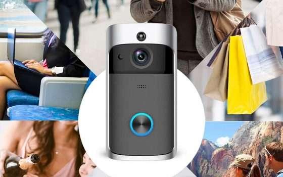 Offerte Amazon: il videocitofono WiFi di NANTING