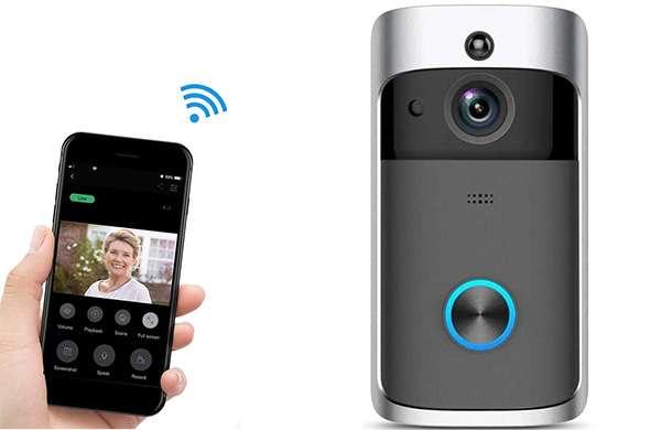 Il videocitofono wireless di NANTING