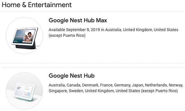 Google Nest Hub Max: la possibile data di lancio
