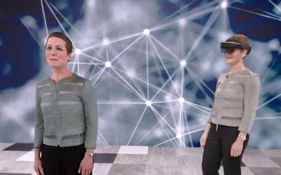 HoloLens e Azure per l'ologramma che traduce