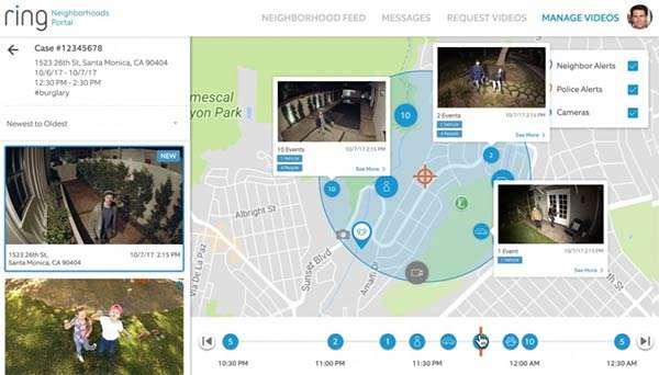 Law Enforcement Neighborhood Portal