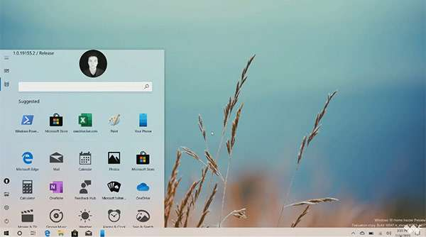 Windows 10: il nuovo menu Start?