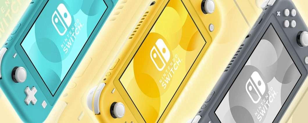 Nintendo Switch Lite: più piccola e portatile