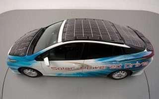 Toyota, NEDO e Sharp insieme per l'auto solare