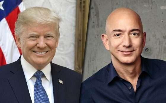 Donald Trump, Jeff Bezos e il JEDI sulla nuvola