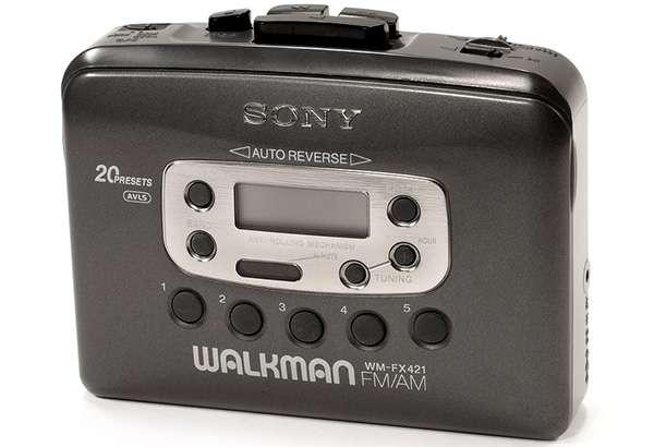 Uno dei tanti modelli di Walkman prodotti da Sony