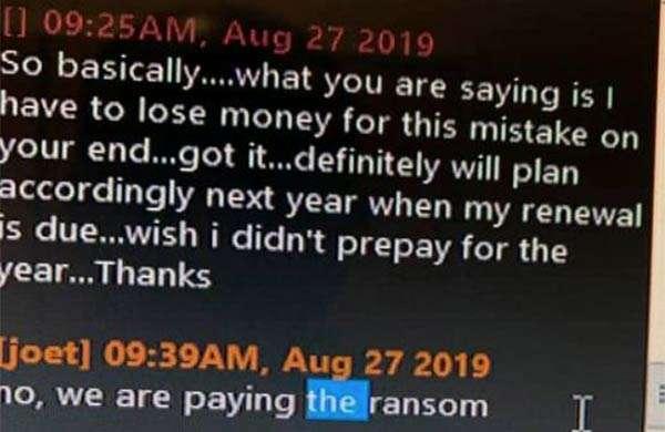Il ransomware che colpisce i dentisti