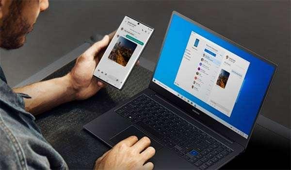 Il mirroring di Galaxy Note10 su un PC con sistema operativo Windows 10