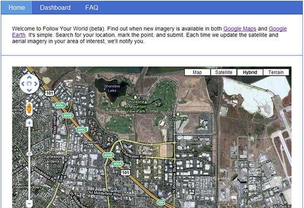 Il servizio Follow Your World di Google