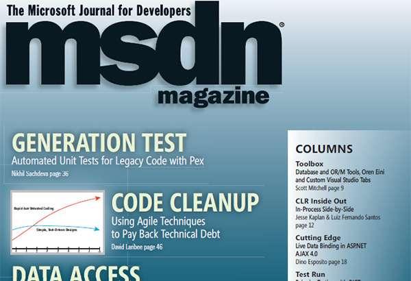 Il magazine MSDN di Microsoft